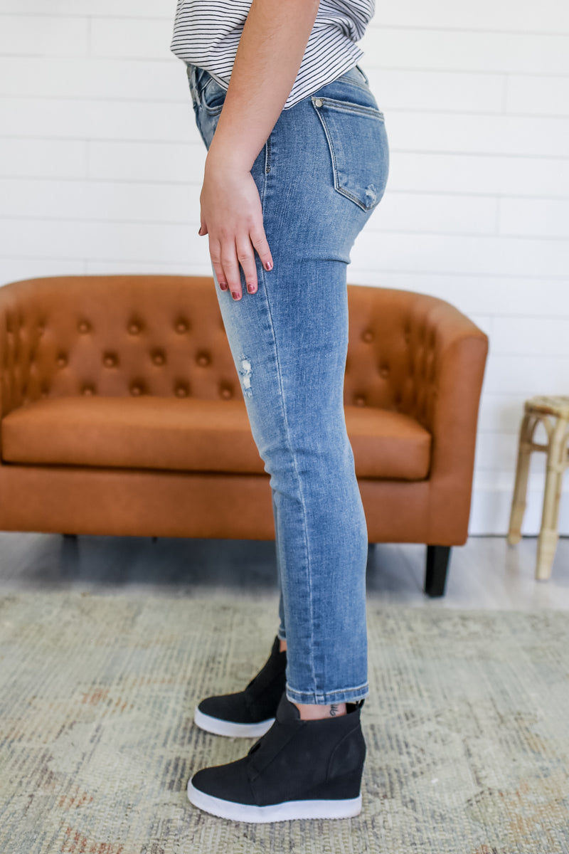 High Rise Relaxed Fit Denim | Stylish & Affordable | UOI Online