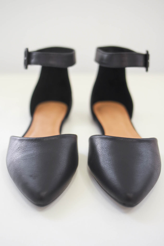 Faux Leather Flats | Stylish & Affordable | UOI Online
