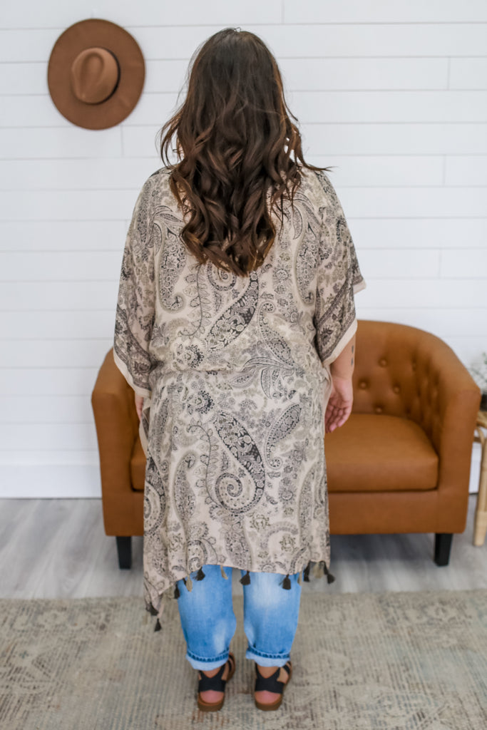 Lightweight Printed Kimono | Stylish & Affordable | UOI Online
