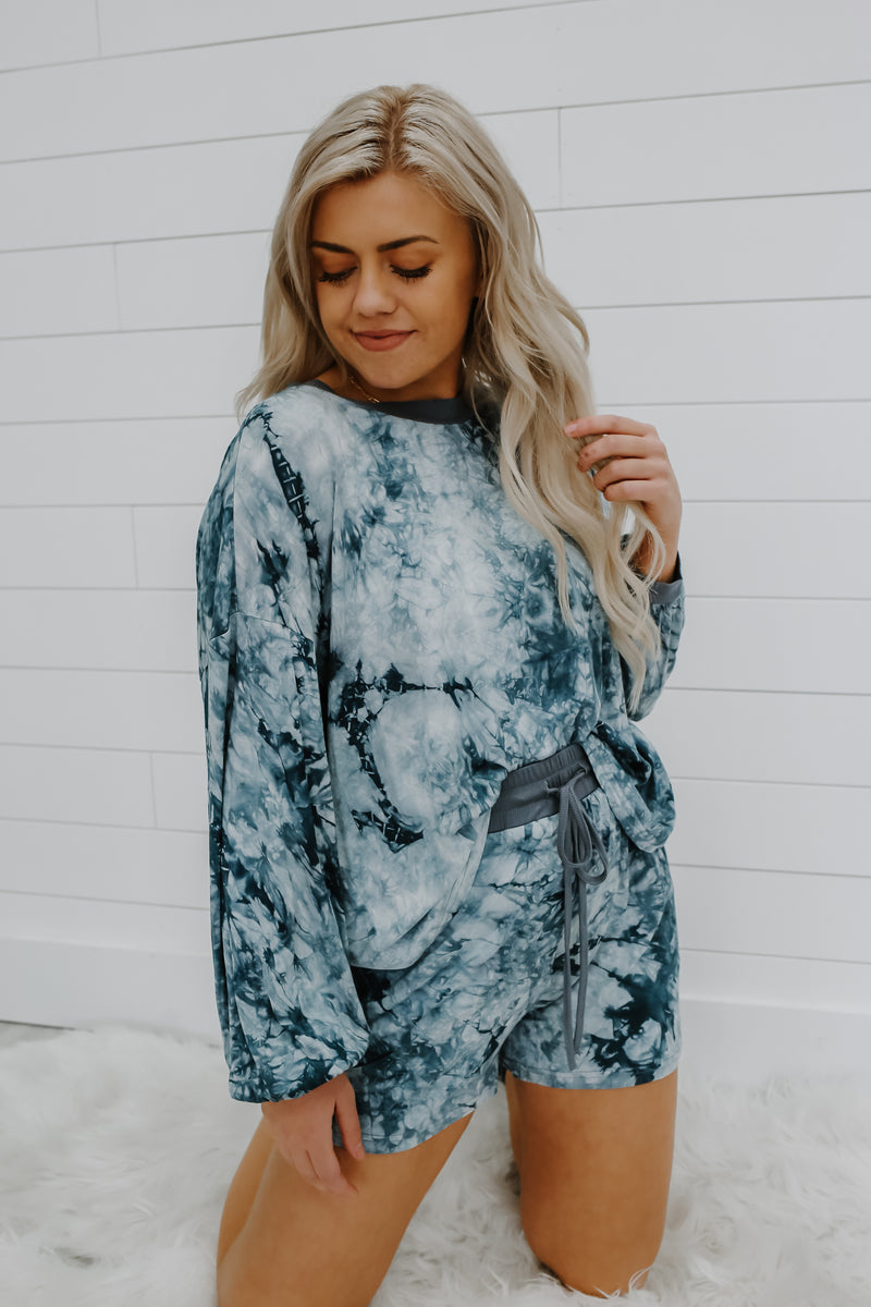 Tie-Dye Two-Piece Lounge Set | Stylish & Affordable | UOI Online