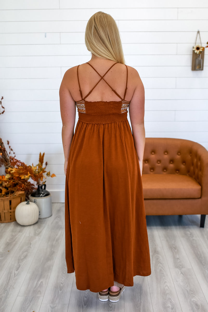 Double Cami Strap Maxi Dress | Stylish & Affordable | UOI Online