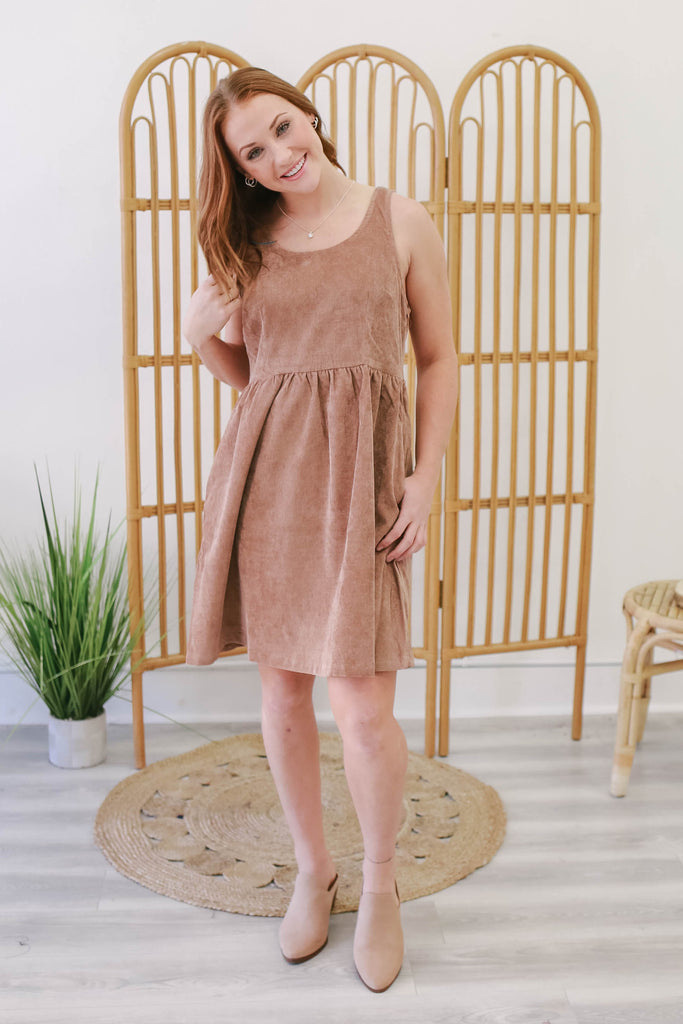 Corduroy Dress | Stylish & Affordable | UOI Online