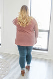 Plus Size Ribbed Knit Top - Online Clothing Boutique