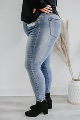 Plus Size High Rise Skinny Denim | Stylish & Affordable | UOI Online