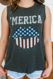 America Graphic Tank | Stylish & Affordable | UOI Online