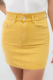 Denim Mini Skirt - Online Clothing Boutique
