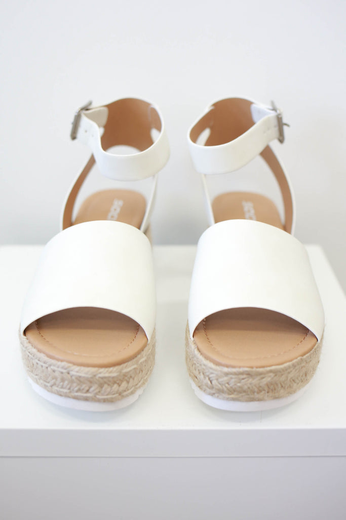 Strappy Platform Espadrille Sandals | Stylish & Affordable | UOI Online