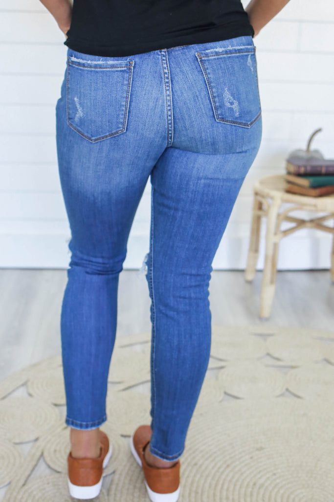 Distressed Denim - Online Clothing Boutique