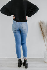 High Rise Distressed Skinny KanCan Denim | Stylish & Affordable | UOI Online