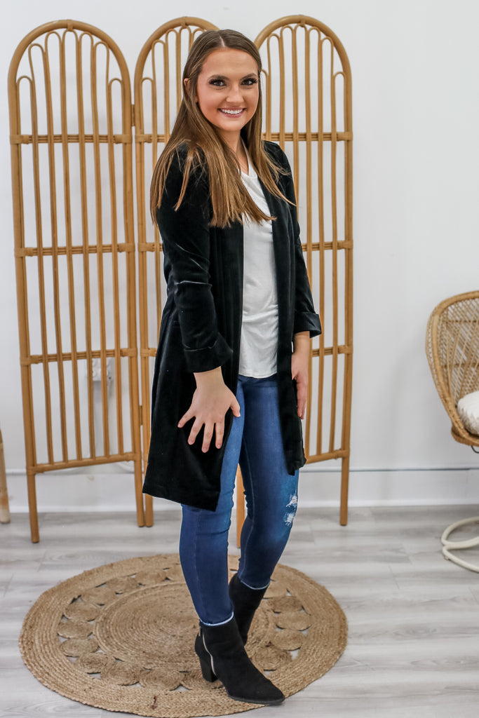 Velvet Jacket | Stylish & Affordable | UOI Online