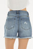 High Rise Denim Shorts - Online Clothing Boutique