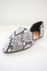 Snakeskin Flats | Stylish & Affordable | UOI Online