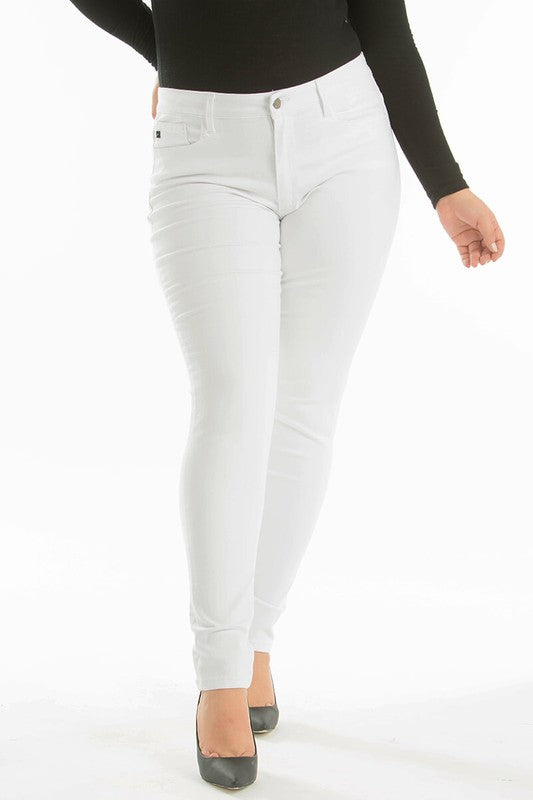 Plus Size White Denim - Online Clothing Boutique