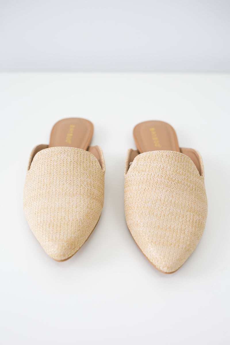 Women Shoes Online | BLOG-44 Straw Mules