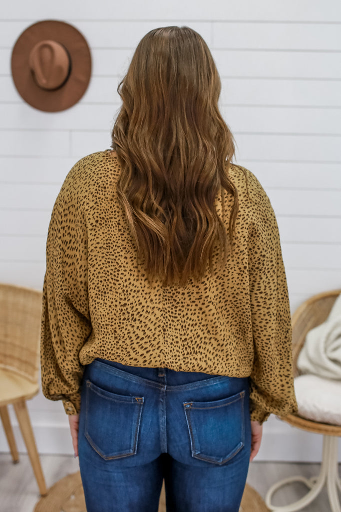 Leopard Print Top | Stylish & Affordable | UOI Online