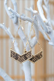 Chainlink Drop Pendant Earrings | Stylish & Affordable | UOI Online