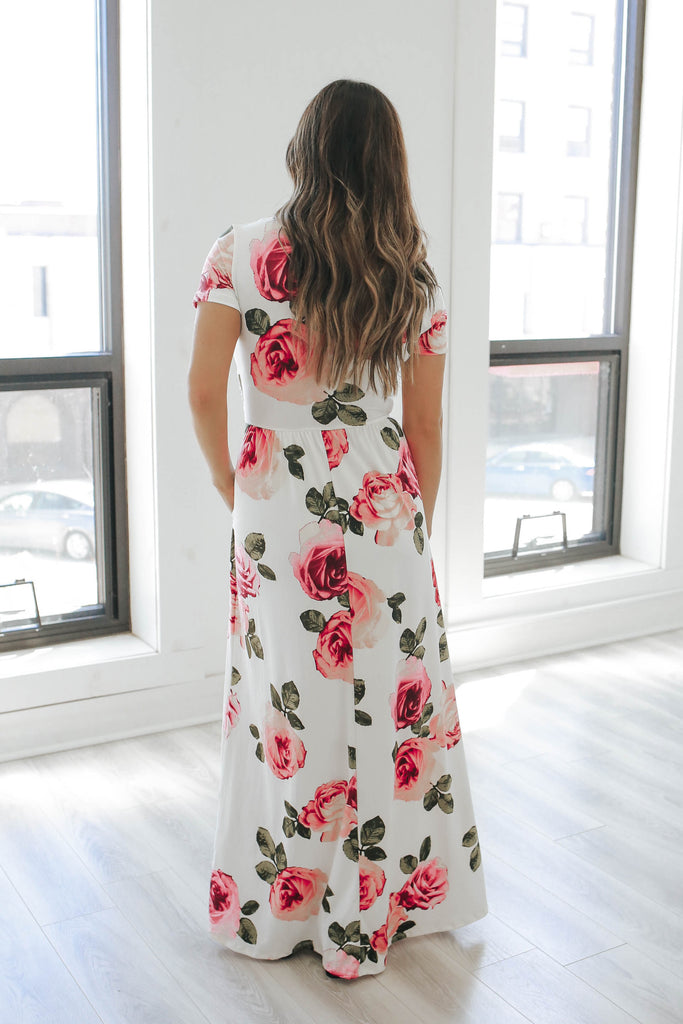 Floral Maxi Dress - Online Clothing Boutique