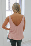 Scoop Back Tank Top - Online Clothing Boutique