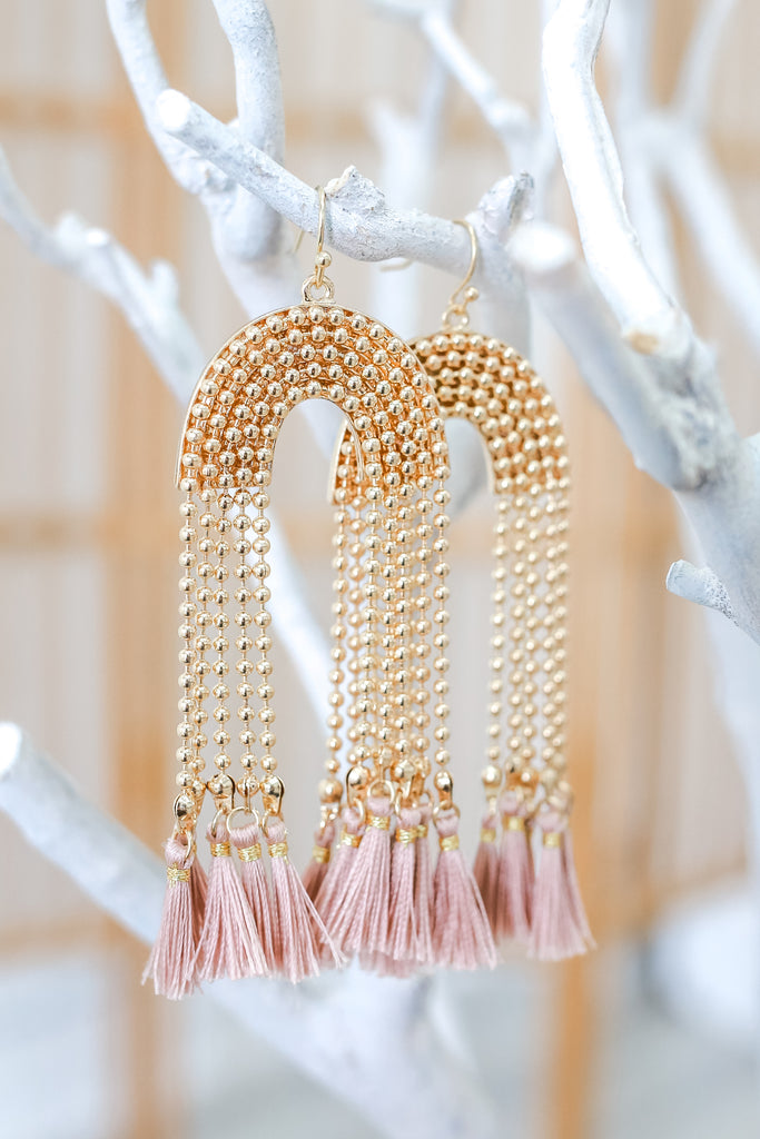 Fringe Tassel Earrings | Stylish & Affordable | UOI Online