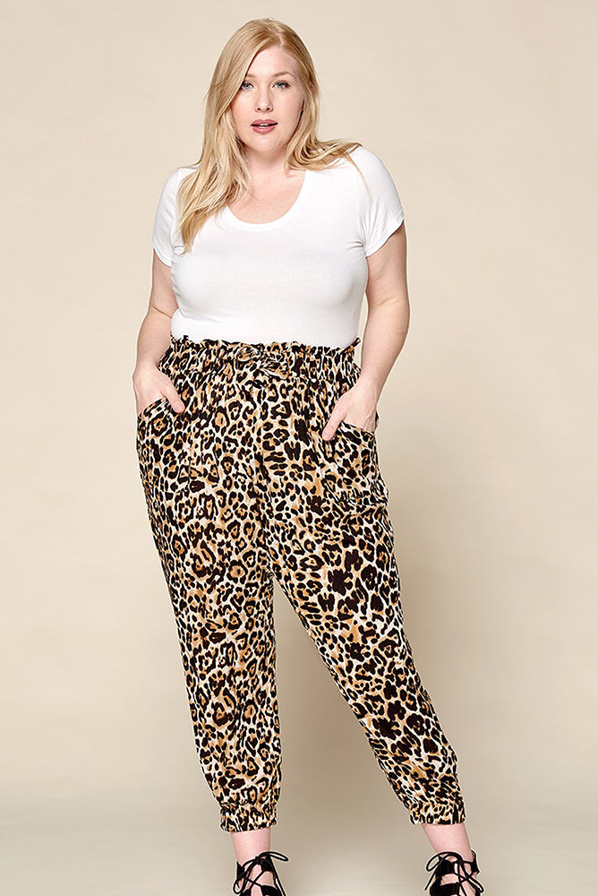 Plus Size High Waisted Pants - Online Clothing Boutique