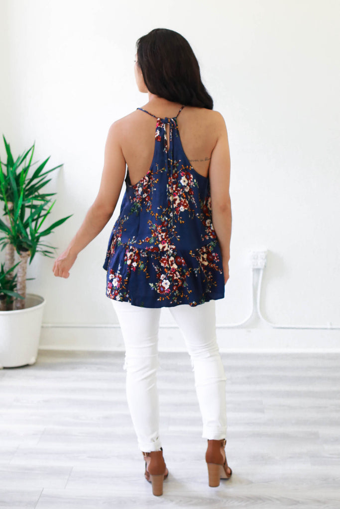 Floral Tank - Online Clothing Boutique