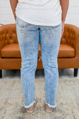 High Rise Distressed Acid Wash Denim | Stylish & Affordable | UOI Online