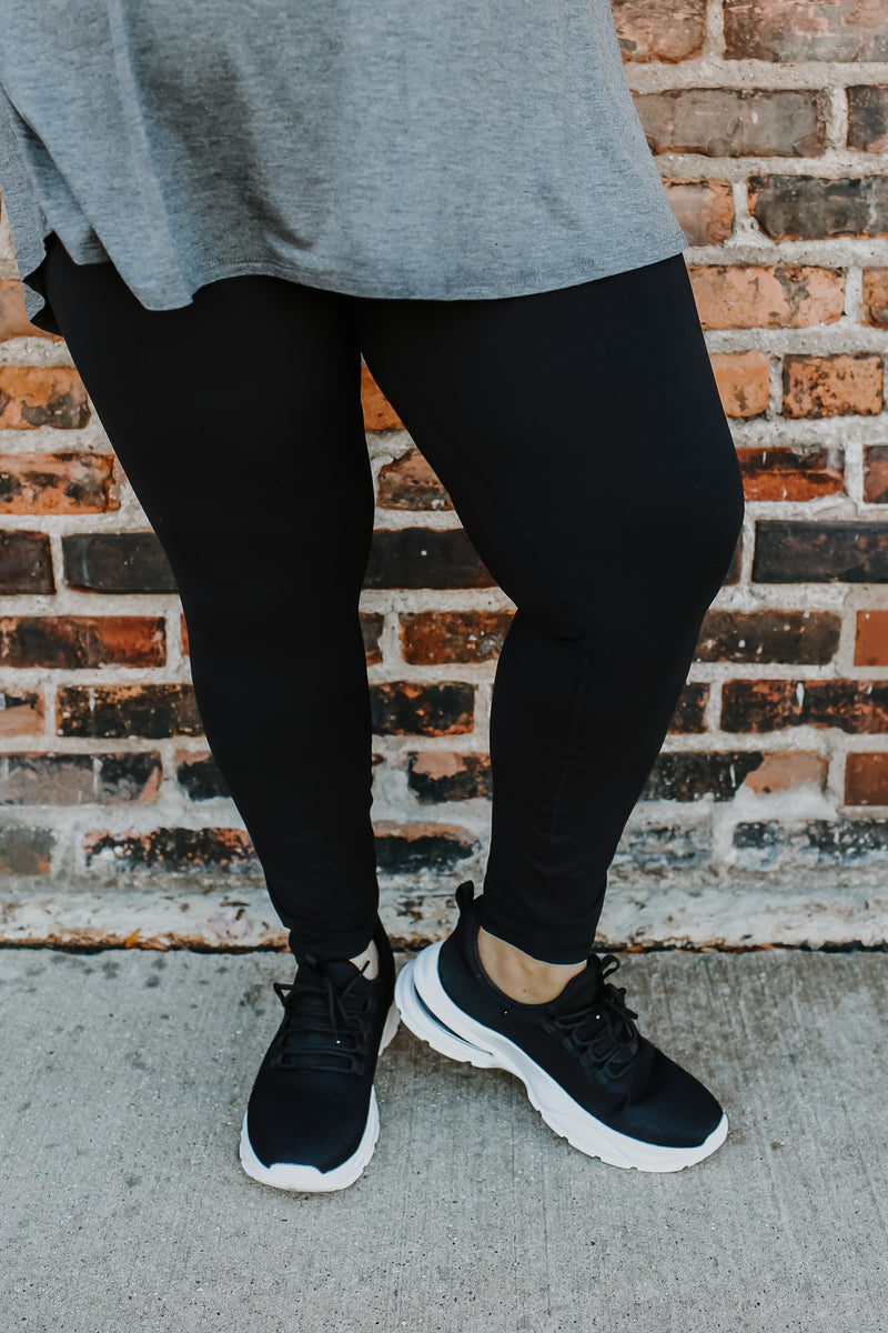 Plus Size High Rise Leggings | Stylish & Affordable | UOI Online