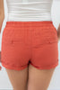 Self Tie Waist Shorts - Online Clothing Boutique