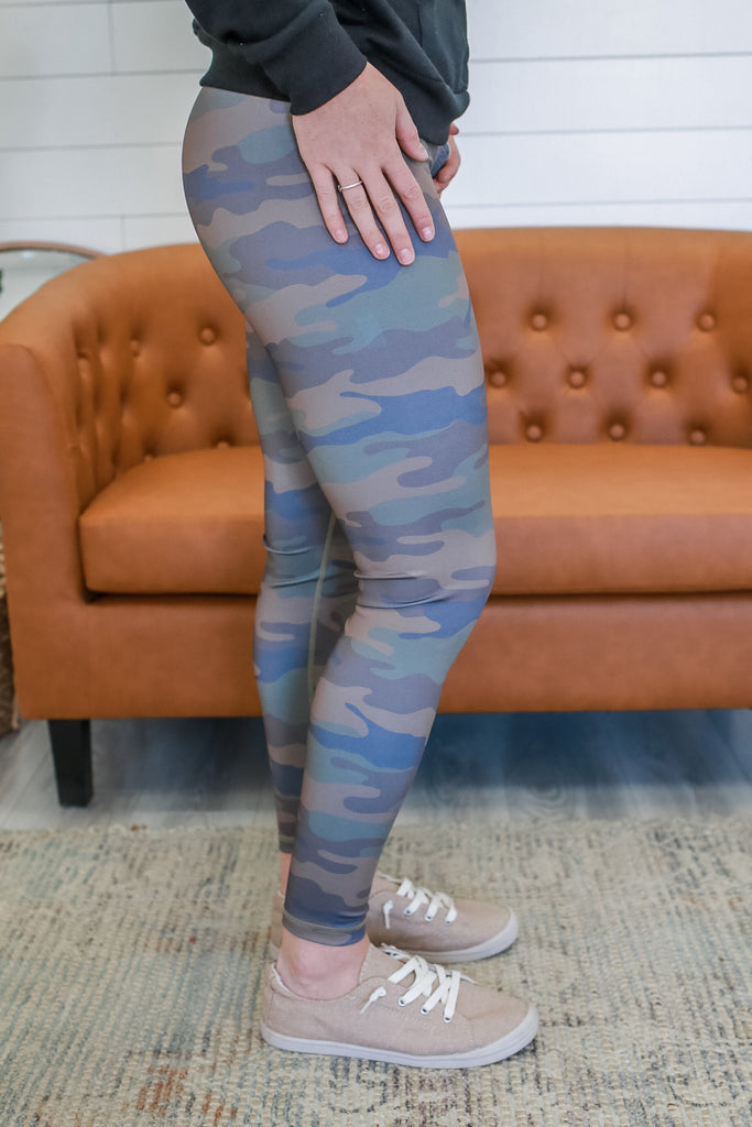 Camo Print Leggings | Stylish & Affordable | UOI Online