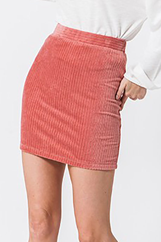 Velvet Mini Skirt | Stylish & Affordable | UOI Online