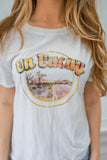 On Vacay Graphic Tee - Online Clothing Boutique