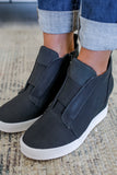Perforated Sneaker Wedges | Stylish & Affordable | UOI Online