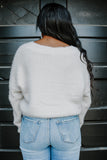 Eyelash Knit Cropped Cardigan | Stylish & Affordable | UOI Online