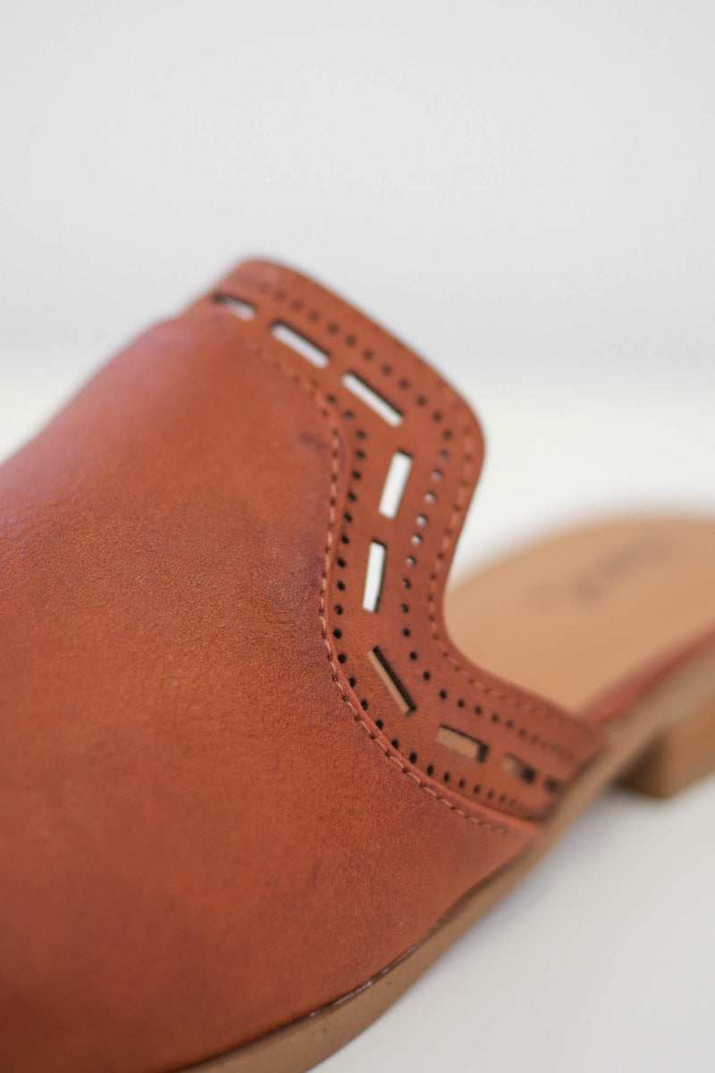 Faux Leather Mules | Stylish & Affordable | UOI Online