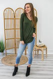 Long Sleeve V-Neck | Stylish & Affordable | UOI Online