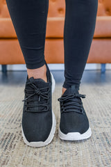 Fly Knit Lace Up Sneakers | Stylish & Affordable | UOI Online