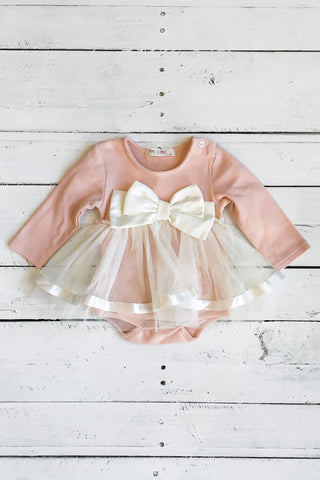 Little Dreamer Onesie - Dusty Pink