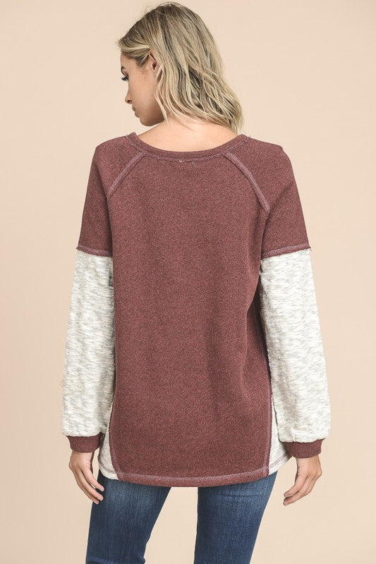 Long Sleeve Oversized Top | Stylish & Affordable | UOI Online