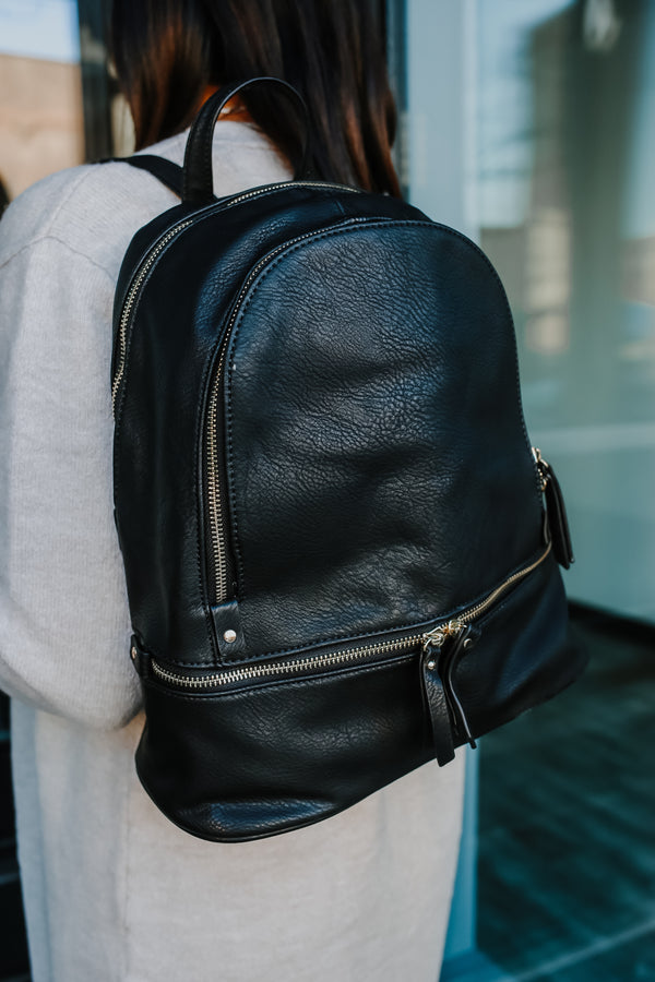 Vegan Leather Backpack | Stylish & Affordable | UOI Online