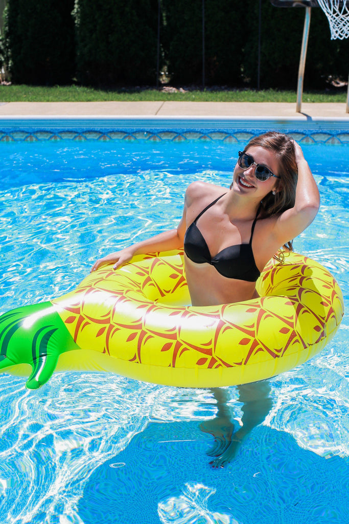 "Pineapple 61"" Pool Float"