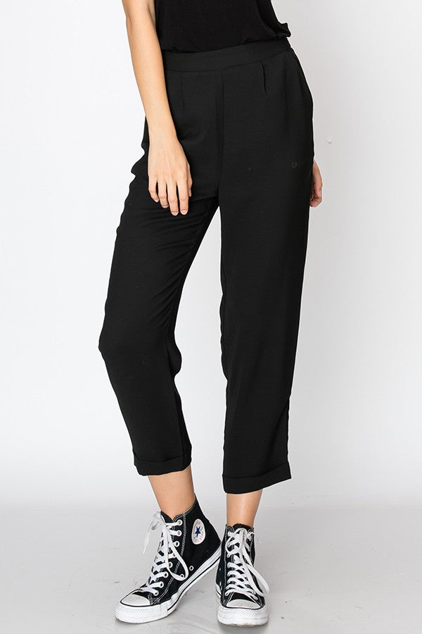 Cropped Cigarette Pants | Stylish & Affordable | UOI Online