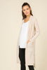 Waffle Knit Duster Cardigan - Online Clothing Boutique