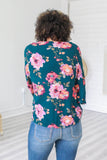 Floral Top - Online Clothing Boutique