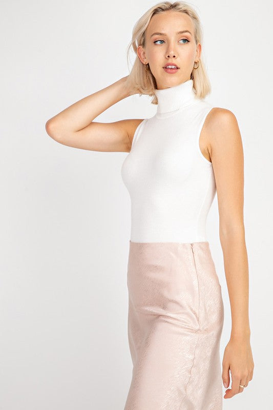 Turtleneck Bodysuit | Stylish & Affordable | UOI Online