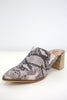 Snakeskin Mules | Stylish & Affordable | UOI Online