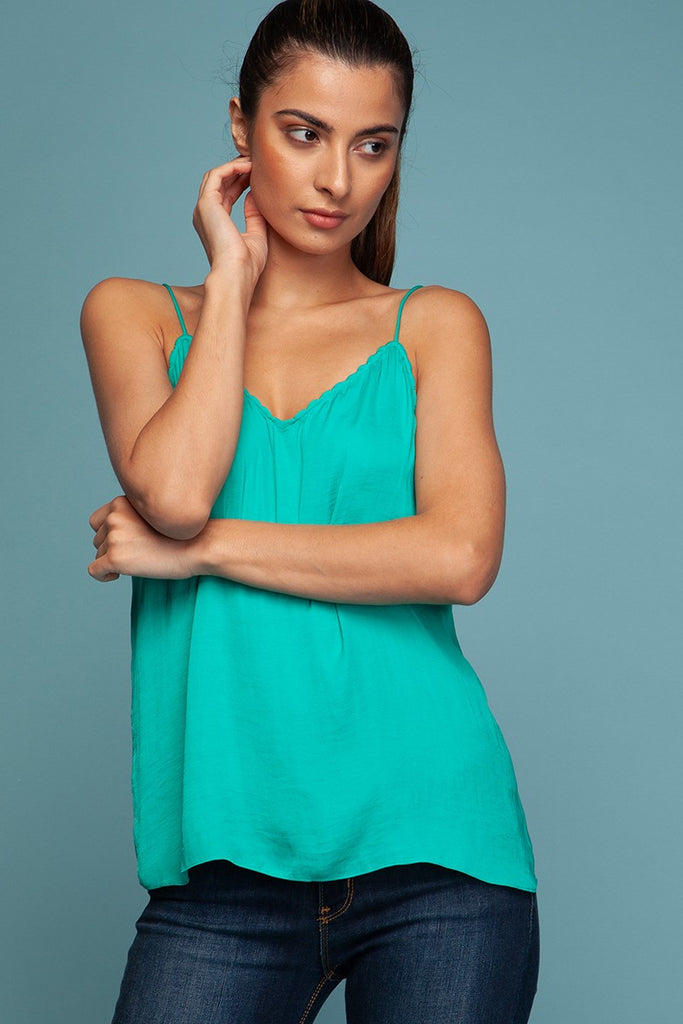 Silky Tank Top - Online Clothing Boutique
