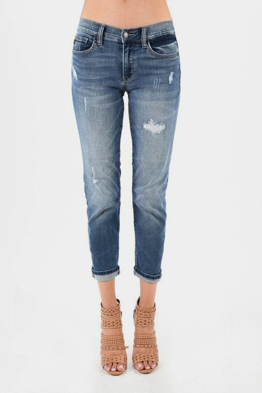 Distressed Boyfriend Jeans | Stylish & Affordable | UOI Online