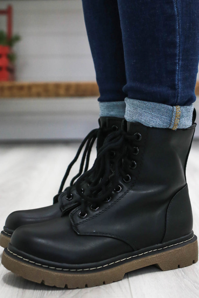 Faux Doc Marten Boots | Stylish & Affordable | UOI Online