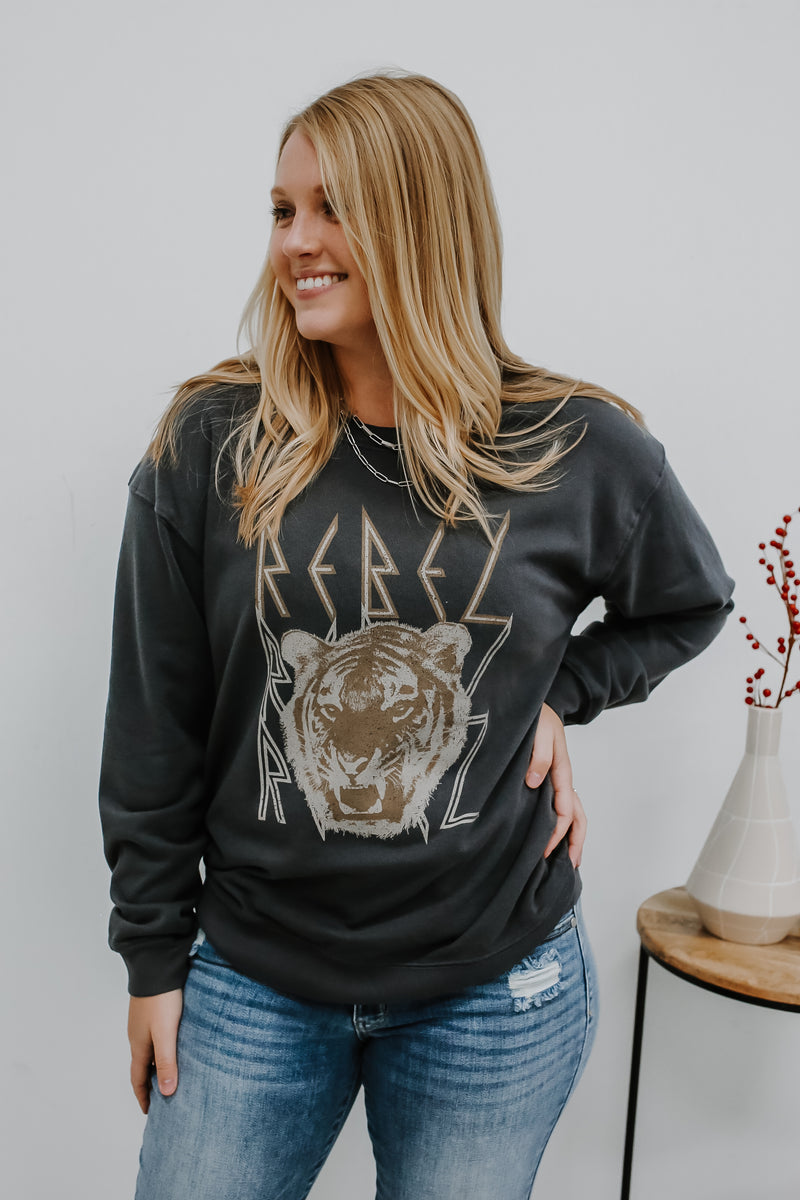 Rebel Graphic Sweatshirt | Stylish & Affordable | UOI Online