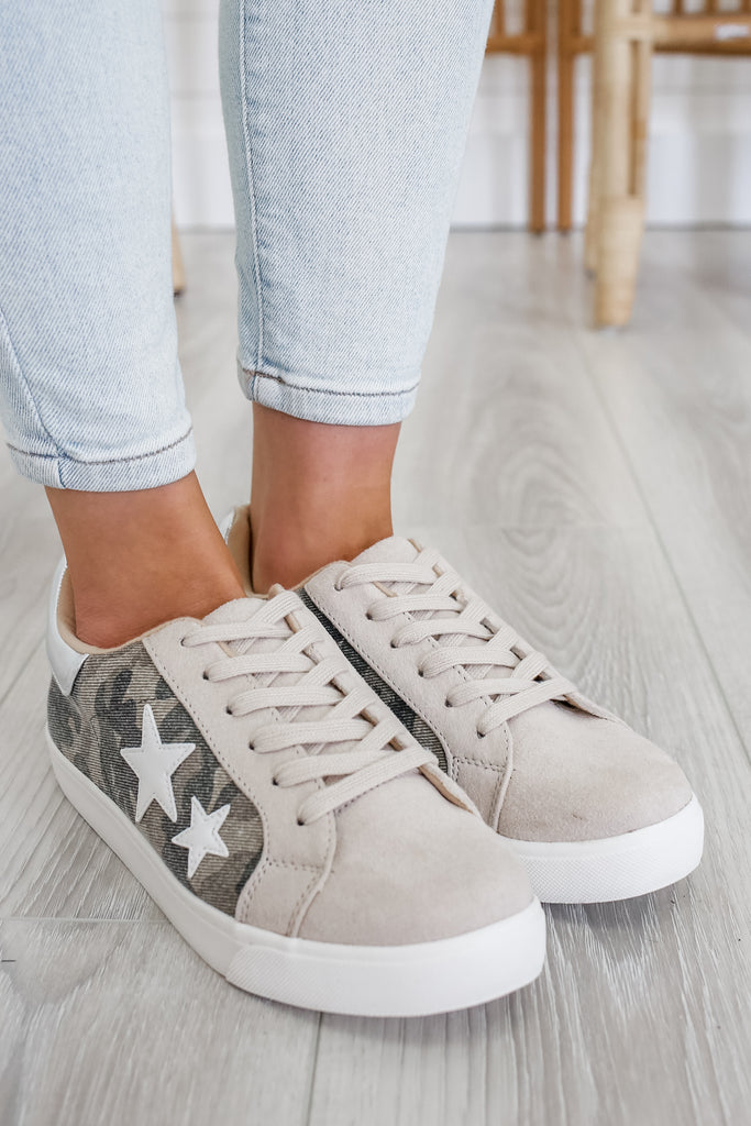Camo Print Sneakers | Stylish & Affordable | UOI Online